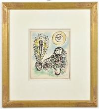 la mise en mot, 1969 by marc chagall