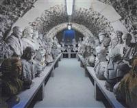 réserve des bustes, château de versailles by robert polidori