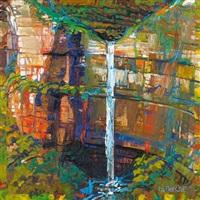 untitled (waterfall) by geoff la gerche