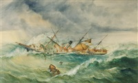 s.s city of melbourne by george frederick gregory