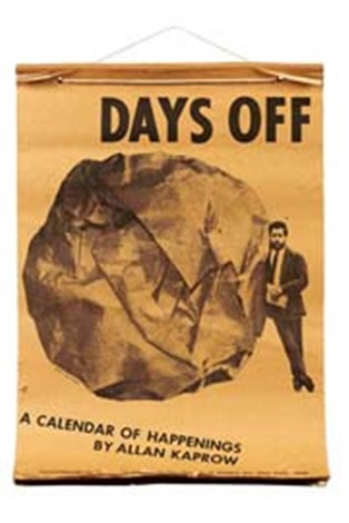 days off by allan kaprow