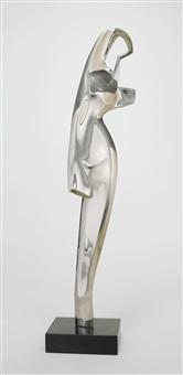 silver torso by alexander archipenko