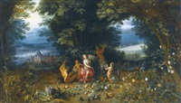 allegory of earth by jan brueghel the younger
