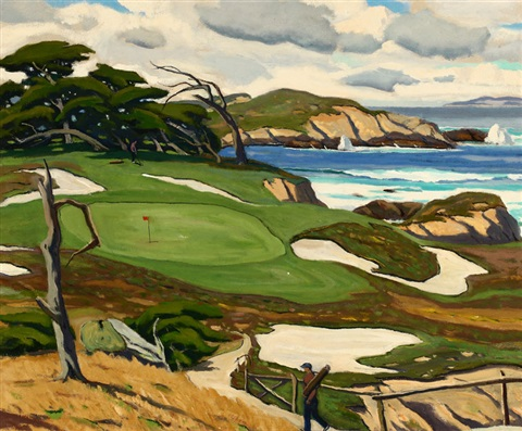 golf course carmel by arthur hill gilbert