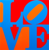 phlox (from a garden of love) by robert indiana