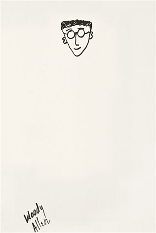 self portrait by woody allen