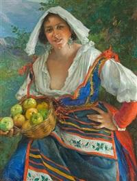 the apple seller by manuel gonzalez santos