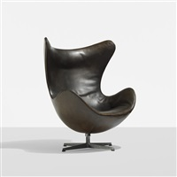 early egg chair by arne jacobsen