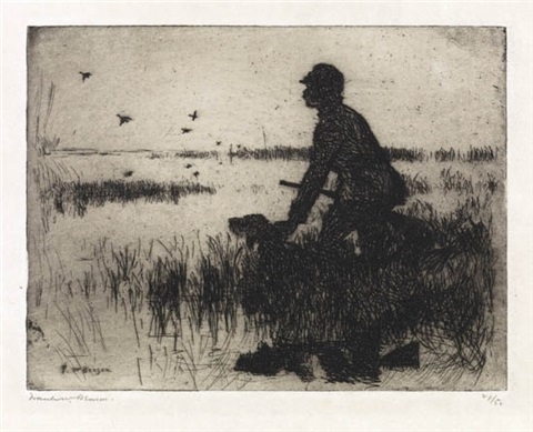 duck hunter by frank weston benson