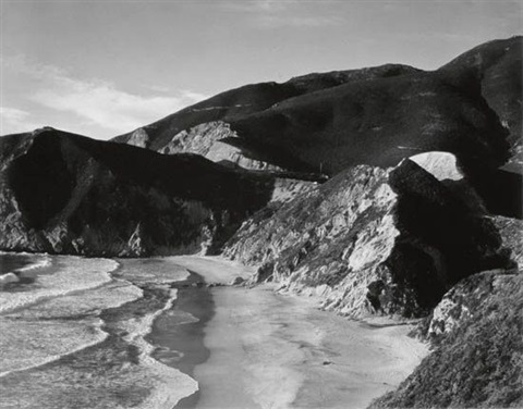song without words 7 road big sur coastline by minor white