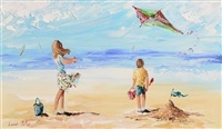 launching the kite by lorna millar