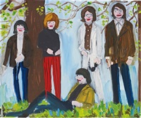 the rolling stones in the forest by stella vine