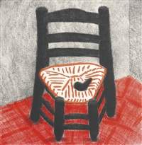 van gogh chair by david hockney