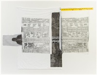 sheephead (from the airport series) by robert rauschenberg