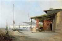 taverne im hafen by jean d' alheim