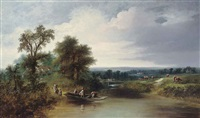 the river ferry by charles pettitt