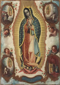 virgin of guadalupe by miguel cabrera