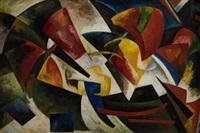 dinámica de los colores 1916-7 by alexandra exter