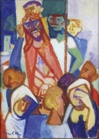 jésus présenté au peuple by yves alix