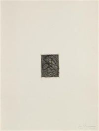 numbers, from 1st etchings, 2nd state by jasper johns
