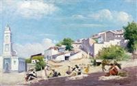 une vue du maroc by jules charles aviat