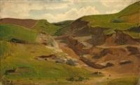 eifel landscape by karl friedrich lessing