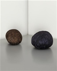 magnetic love affair (2 works) by sheila hicks