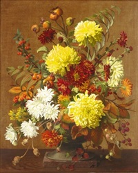 chrysanthemums by john e. nicholls