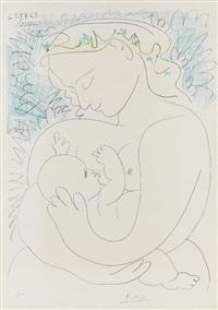 grande maternité by pablo picasso