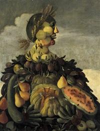 allegoria dell'estate: allegorie des sommers by francesco zucchi