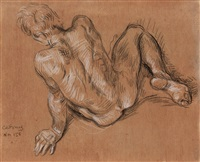 male nude (nm 156) by paul cadmus