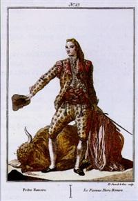 le fameux pedro romero by juan de lacruz cano y olmedilla