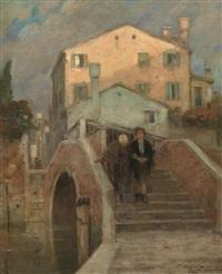 scorcio di venezia by cesare vianello