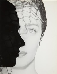 untitled (profile silhouette) by erwin blumenfeld