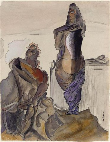 eleusis morning by wyndham lewis