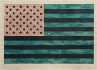 flag (moratorium) by jasper johns