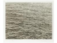 ocean with cross #1 by vija celmins