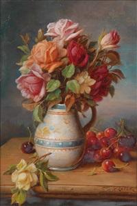 rosen und kirschen by hans zatzka