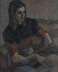 jeune femme by gabino rey