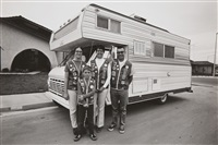 camper family (from the series: suburbia) by bill owens