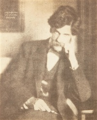 portrait of alfred stieglitz by heinrich kühn