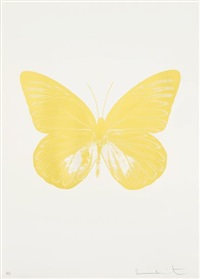the souls i: one plate by damien hirst
