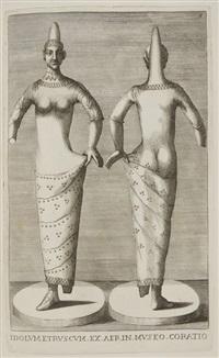 museum cortonense in quo vetera monumenta complectuntur anaglypha, thoreumate, gemmae inscalptae, insculptaeque (bk w/85 works and frontispiece) by francesco valesio