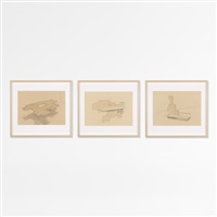 untitled (3 works from rules of raugh) by andrea zittel