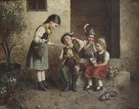 the young cherry-seller by edmund adler