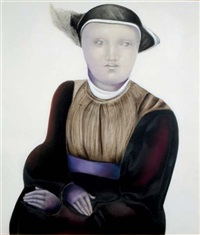 portrait of a woman by carmen aldunate