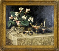 tea service by e.r. nash