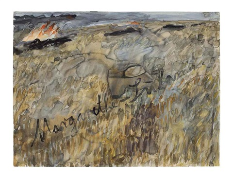 margarethe-sulamit by anselm kiefer