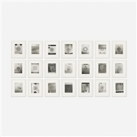 sound holes (suite of twenty-one works) by christian marclay