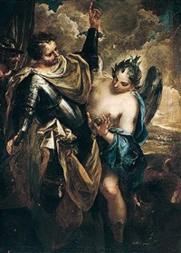 an allegory of victory (?) by federico cervelli